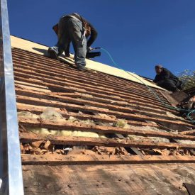 Professional chimney repair and roofing services