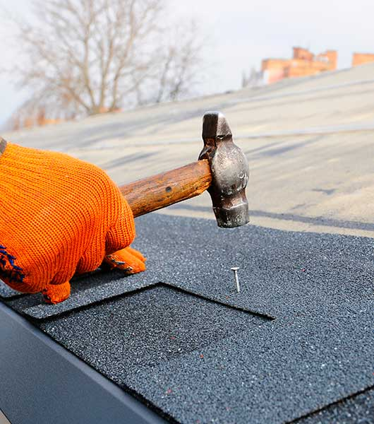 Installing Shingles – Residential Roofing Services