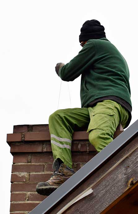 Licensed and Insured Chimney Contractor